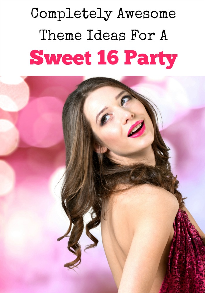 Are you searching for completely awesome theme ideas for a Sweet 16 Party? You've come to the right place lovely! I have a fab list of theme ideas for you!