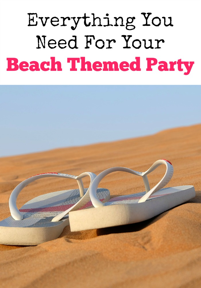 We have everything you need for a beach themed party right here! From fun ideas for decorations to games, and even food your party will be so.much.fun!