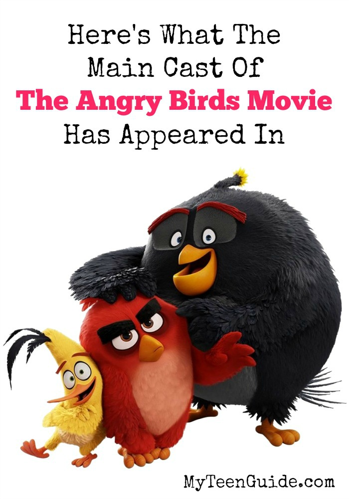 The Angry Birds movie cast is super talented, but it's harder sometimes to know them by their voice alone! You may remember some of them from the little movies Frozen, Inside Out and Shrek The Third. The Angry Birds movie cast voice actors are not new to the world of movies at all! Click to see what other movies this talented cast is featured in.