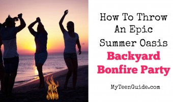How To Throw An Epic Summer Oasis Backyard Bonfire Party