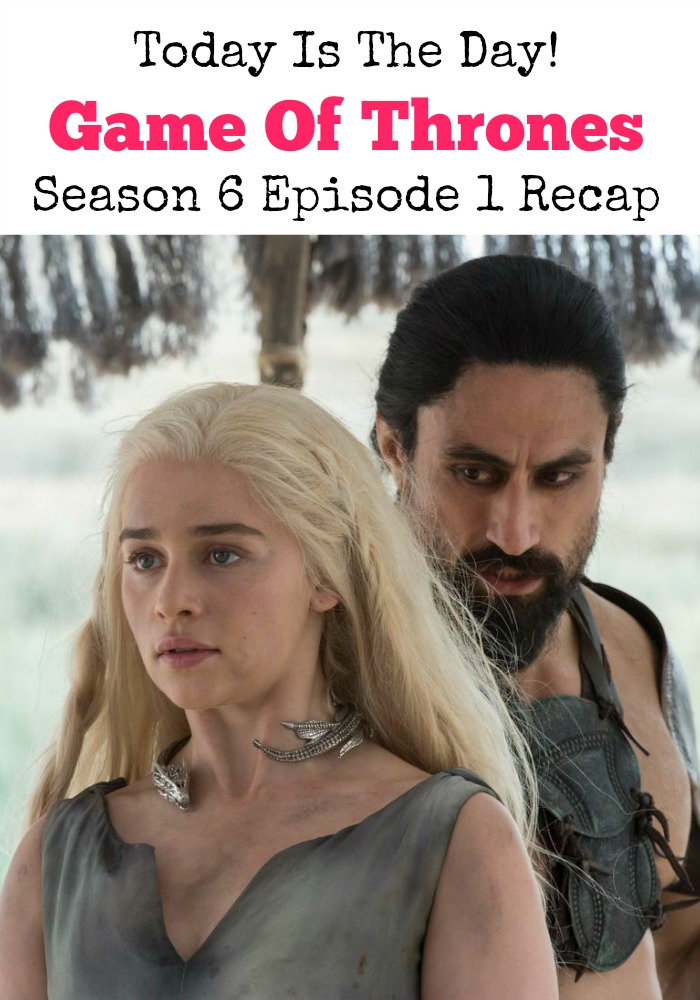It's time to pick up the jagged little pieces with the Game of Thrones Season 6 Episode 1 recap. Get a taste of what's coming next, it's getting so good!