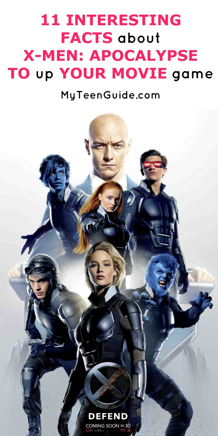 Superhero fans, it's time to get our facts about X-Men: Apocalypse straight! This new movie is coming out in theaters on May 27th, 2016 and it is a big one! This film brings together storylines from five other films and gives us an intense look at the origins of the mutant powers. Plus it has Jennifer Lawrence among many talented actors and actresses, so you better believe I'm going to see it! Click to see more insider tips about X-Men Apocalypse!