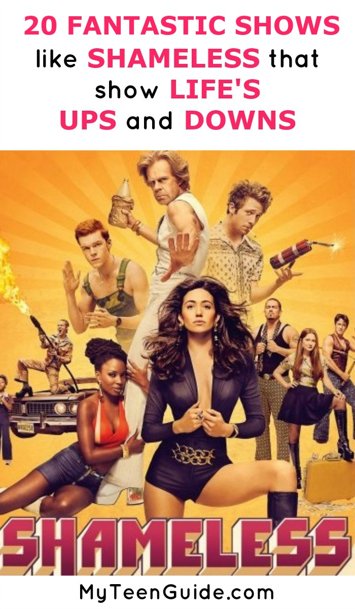 20 Fantastic Shows Like Shameless That Show Life's Ups And