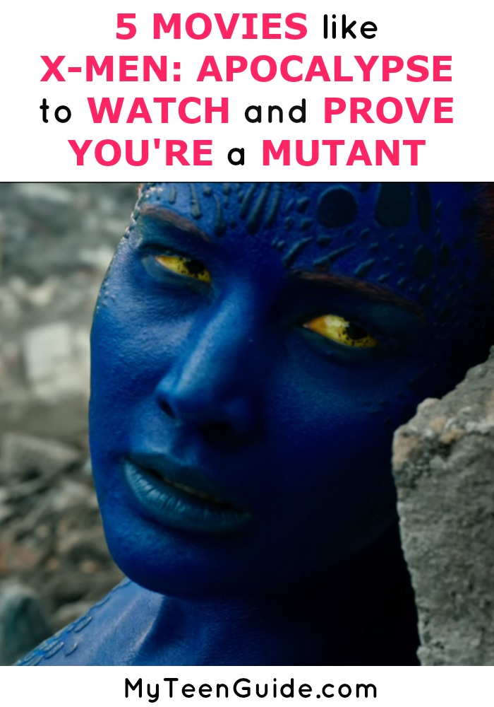 I would love to be a mutant just like the X-men, but the reality is I just don't have the powers.... yet! That's why I'm looking for other movies to watch like X-Men: Apocalypse to study up on my superhero skills. To rev yourself up for the movie, grab Bae and watch one of these movies like X-Men: Apocalypse now! Click to see them all!