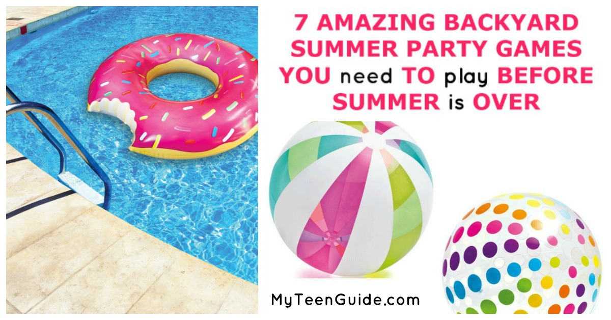 7 Backyard Summer Party Games You Need To Play