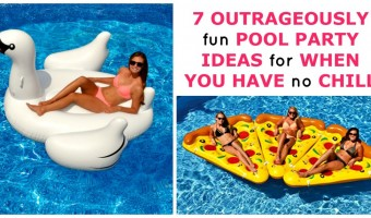 7 Outrageously Fun Pool Party Ideas For When You Have No Chill