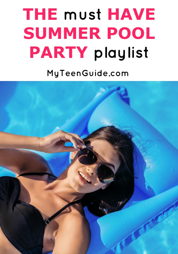 This is the ultimate music guide to make your summer pool party for teens a total splash! These tunes will have you and your crew soaking up the sun, splashing in the pool and dancing on the deck. This playlist features some new tracks and some old time favorites. Get ready for a summer pool party for teens that you won't soon forget. Click to see my full list of songs!