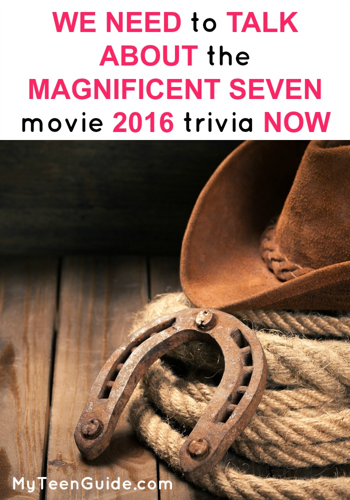 Whether you are a western fan or just watch the occasional cowboy, you're going to freak out with anticipation at The Magnificent Seven 2016 movie trivia. The Magnificent Seven tells the story of a group of outlaw men who ban together to help a village against a gang of savage thieves. Sounds pretty intense right? Get the sneak peek on this movie! Info is only just starting to hit the internet, but we have all of the Magnificent Seven Movie 2016 quotes so far! Click to see more!