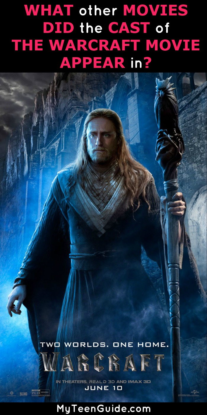What Other Movies Did The Cast Of The Warcraft Movie