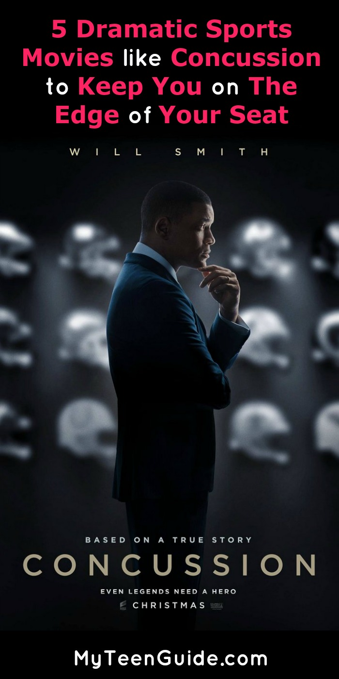 Sports and sports injuries can create some major drama! These five movies like Concussion will give you intense movies to watch for days!