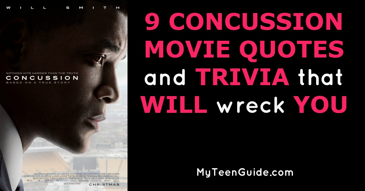 60 Concussion Movie Quotes And Trivia That WiIl Wreck You Cool Concussion Quotes