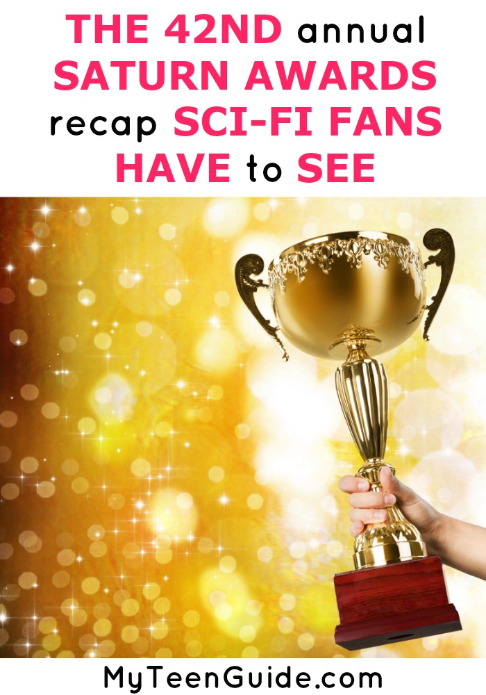 If you love the best science fiction shows, fantasy movies and horror movies you have to see our 2016 Saturn Awards Recap! Game of Thrones, Star Trek, The Walking Dead and Star Wars fans have a lot to talk about!