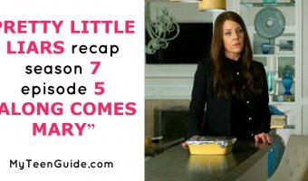 "A Surprise Proposal? Pretty Little Liars Recap Season 7 Episode 5 ""Along Comes Mary"""