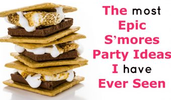 The Most Epic S'mores Party Ideas I Have Ever Seen