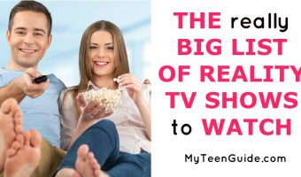 The REALLY BIG List Of Reality TV Shows To Watch