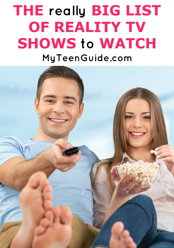 The REALLY BIG Reality TV Shows List To Watch