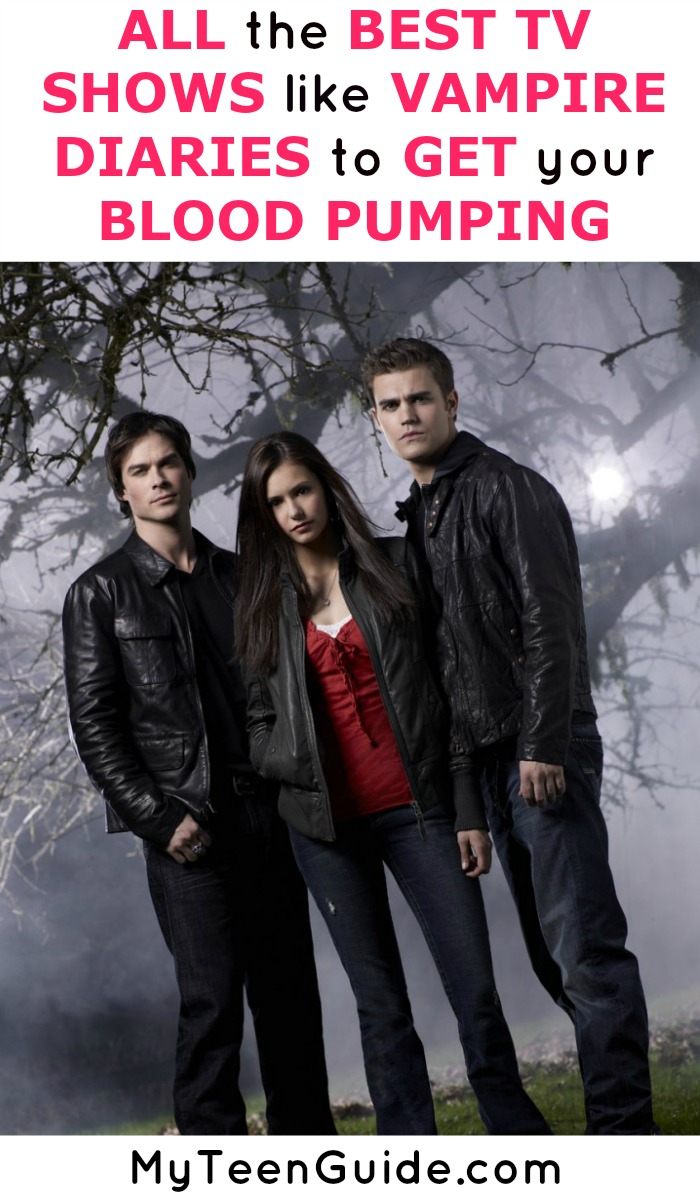 Sweaty palms, pointy teeth with bite and more dark romance to watch! You have to check out these popular television shows like The Vampire Diaries should be top of your list!