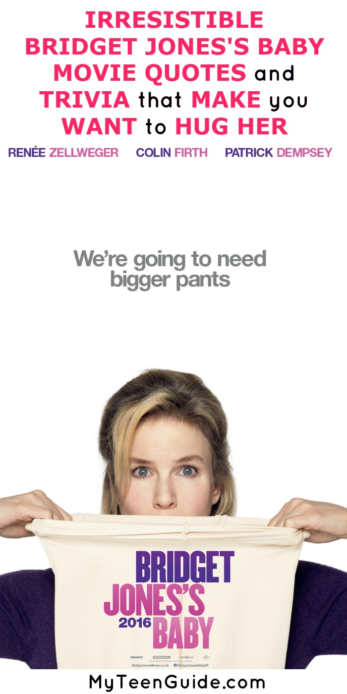 Every girl Bridget Jones is giving us all the feels with the movie quotes in the new film. Check out all the insider details on Bridget Jones's Baby!