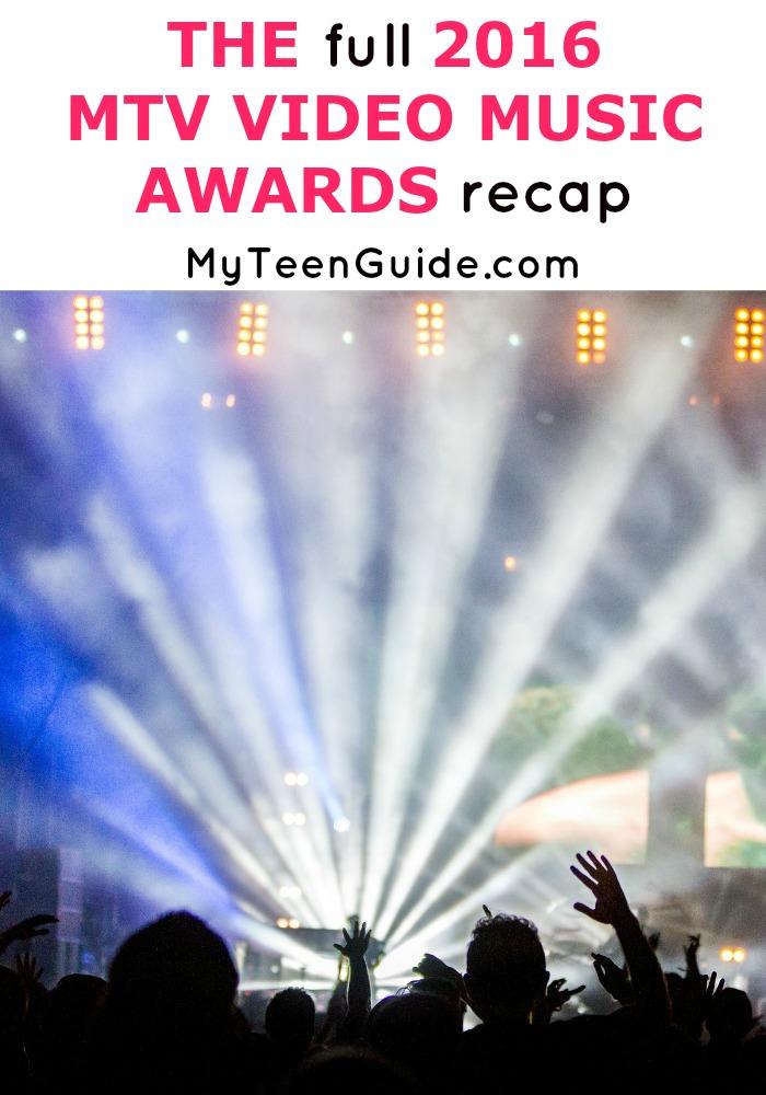 Kanye did what? The full 2016 MTV Video Music Awards recap.
