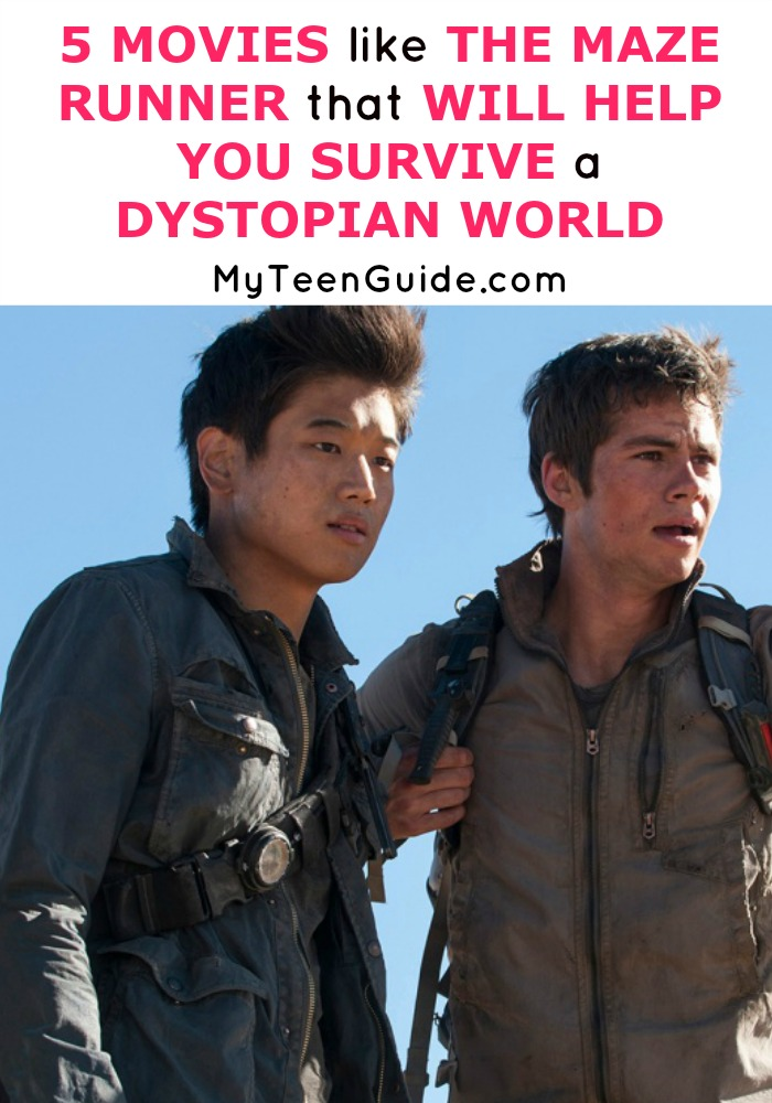 It's a takeover! See five movies like The Maze Runner that will help you survive a dystopian world.