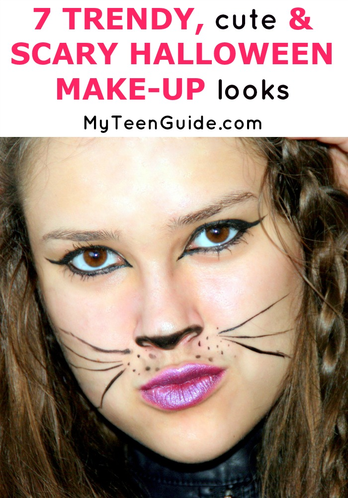 All the best Halloween Makeup ideas! 7 Trendy, Cute And Scary Halloween Beauty Make-Up Looks