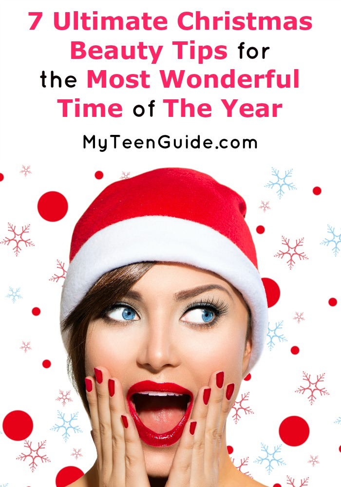 If you need some Christmas beauty ideas to brighten your party look, you have to check out our makeup nails, and other holiday beauty tips. You're going to look gorgeous at those Christmas parties!
