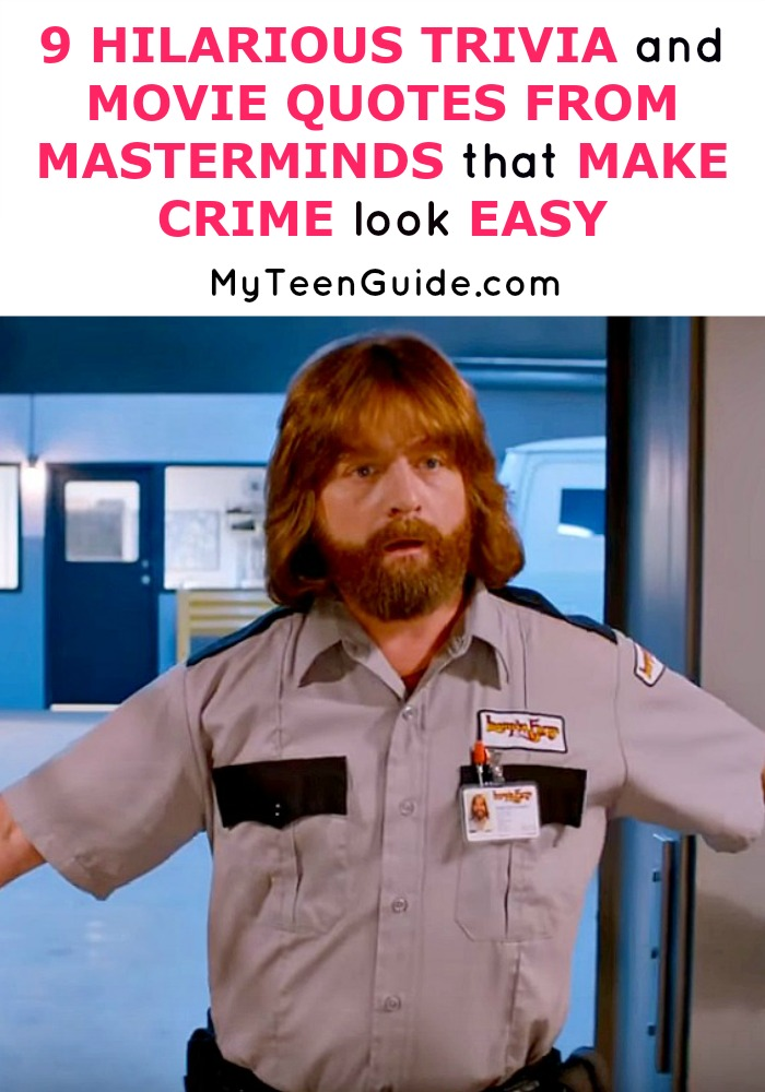 It's easy right? 9 Hilarious Trivia And Movie Quotes From Masterminds That Make Crime Look Easy