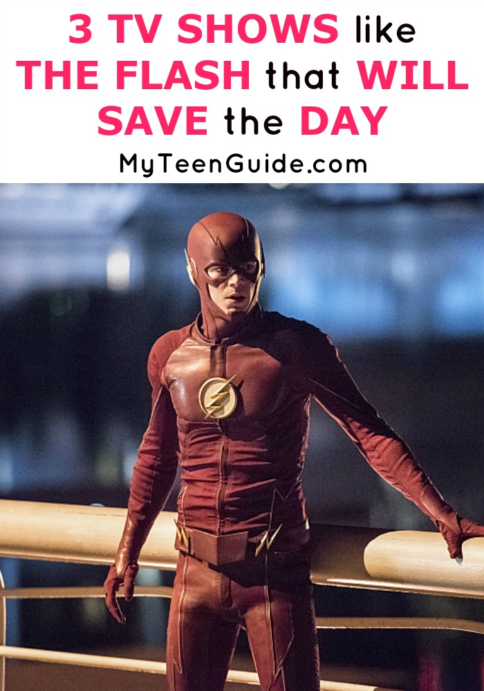 Superhero fangirl here! See three TV Shows like The Flash that will save the day.