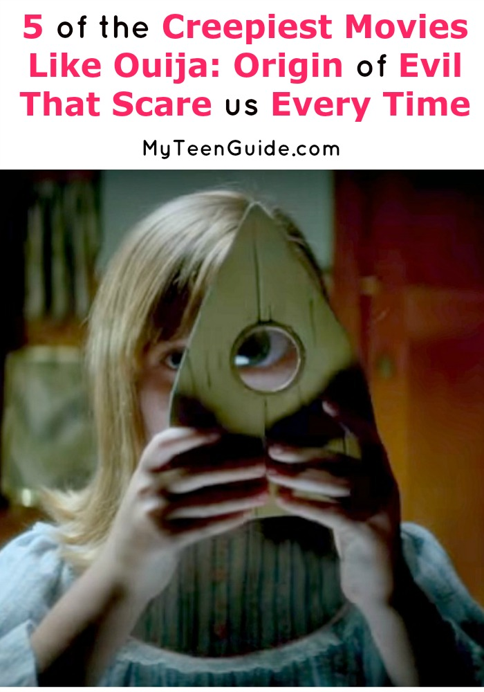 Need creepy movies to watch like Ouija: Origin of Evil? This new 2016 sequel to the original Ouija movie looks so sinister. We've found five more movies so scary you'll watch through your fingers.
