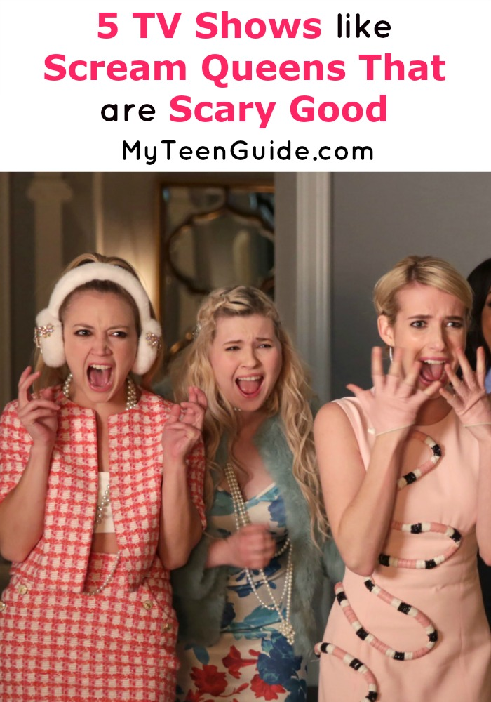 Scream Queens leaving you hanging for more just like it? The Chanels think you should see this list of similar hilarious yet terrifying TV shows to watch!