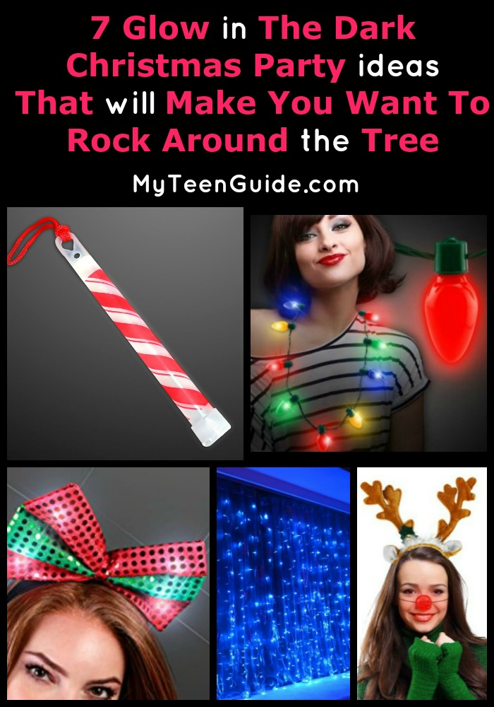 Jingle all the way with our fab glow in the dark Christmas party ideas. You and your friends will have a blast with these festive glow ideas! Fa la la la!