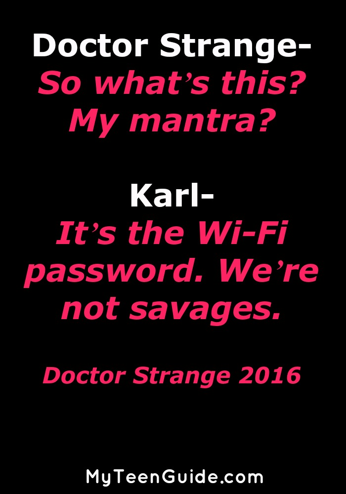 Movie Quote Trivia Fascinating All The Doctor Strange Movie Quotes Because It's Good To Be A Sorcerer