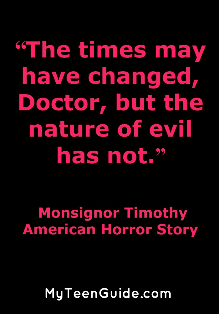 Is American Horror Story A Good Show? Check out our American Horrror Story quotes to find out more!