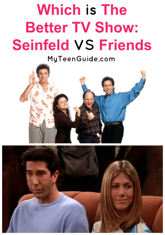 Which is the better TV show, Seinfeld or Friends? That's a good question has been argued about in many living rooms as they streamed Friends on Netflix or laughed to Seinfeld! Find out which show really wins in this epic comedy showdown.