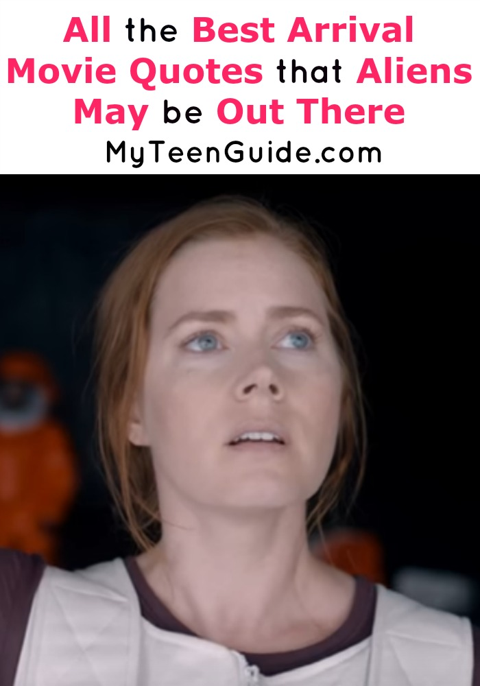 These Arrival movie quotes are killing it and so is Amy Adams! Do you think there are aliens really out there? Get a sneak peek, this is going to be one of the movies to watch this year! The ratings are already high on this film!
