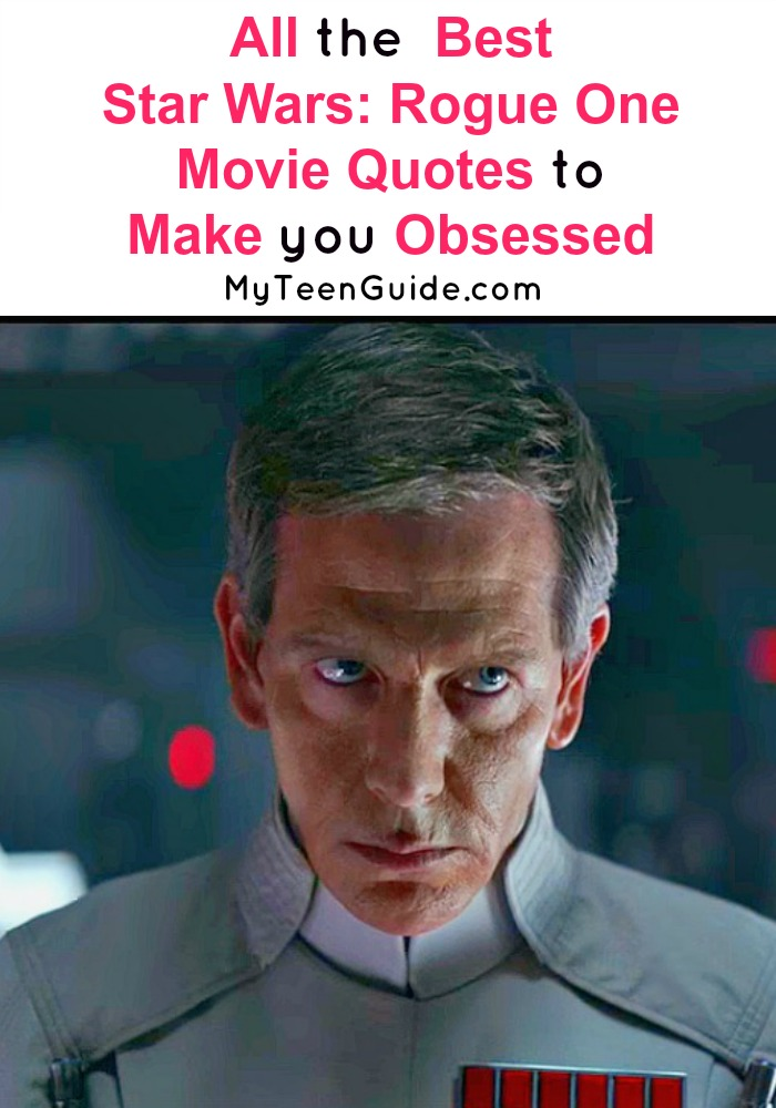 Are you obsessing over the latest Rogue One Movie quotes and details about the movie? See our insider look at the latest Star Wars film that is on our list of movies to watch next!