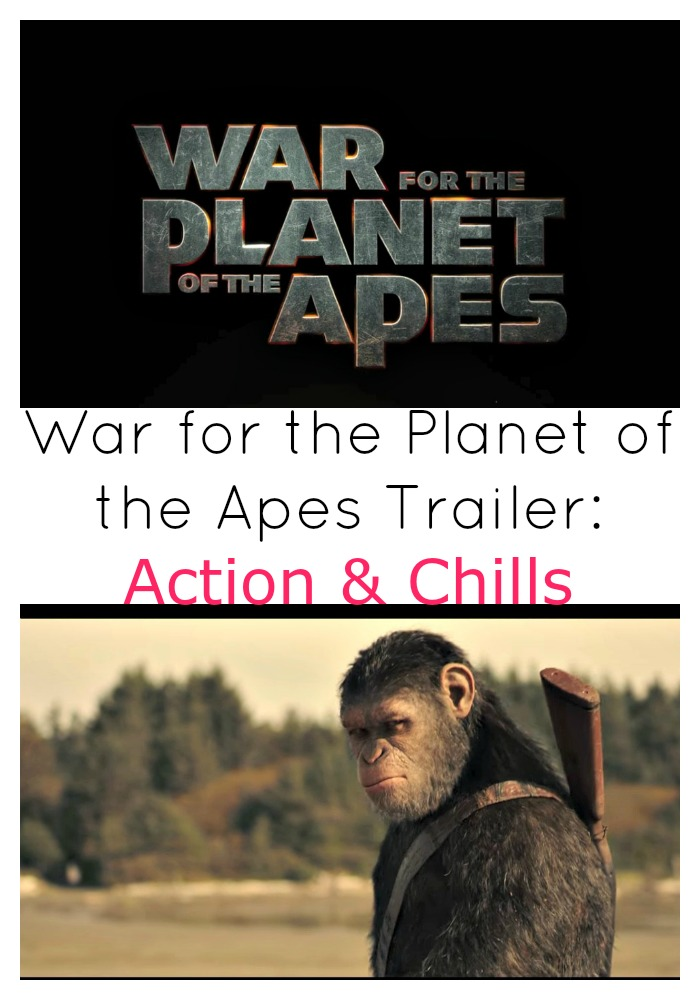 Watch the War for the Planet of the Apes' Movie Trailer. Lots of Action & Chills!