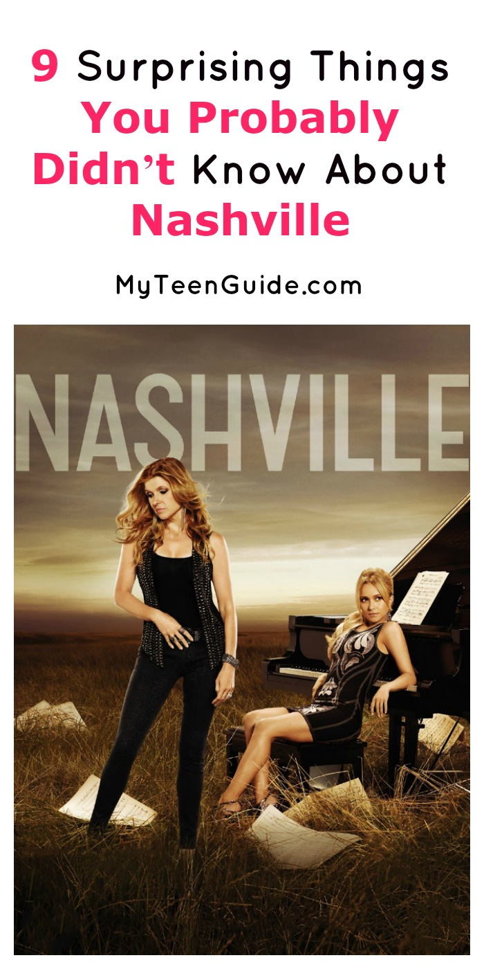 We bet you didn't know these 9 surprising things about the TV show Nashville! Check them out and prove us wrong!
