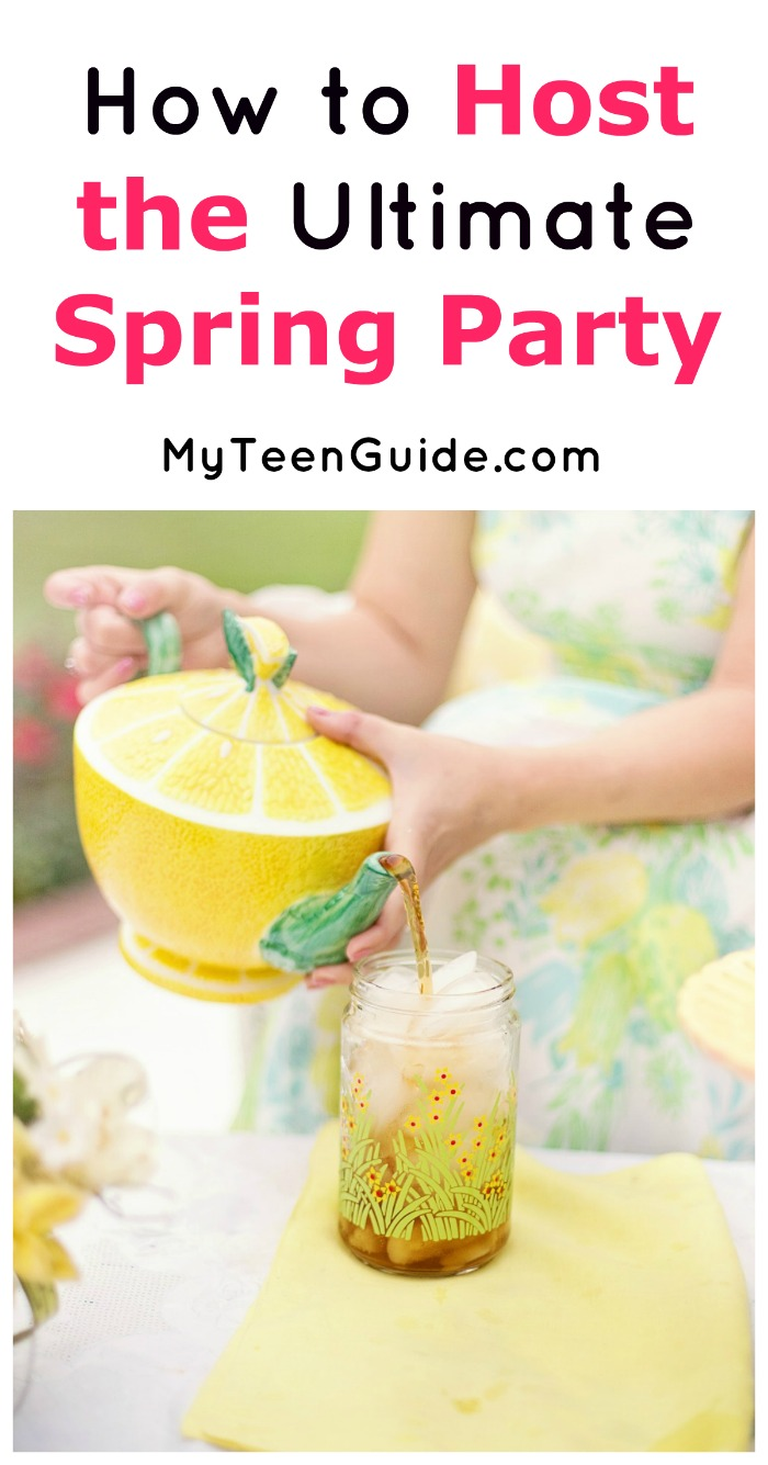 Host the ultimate spring party with these tips for everything from decorations to fun party games! Check it out now!
