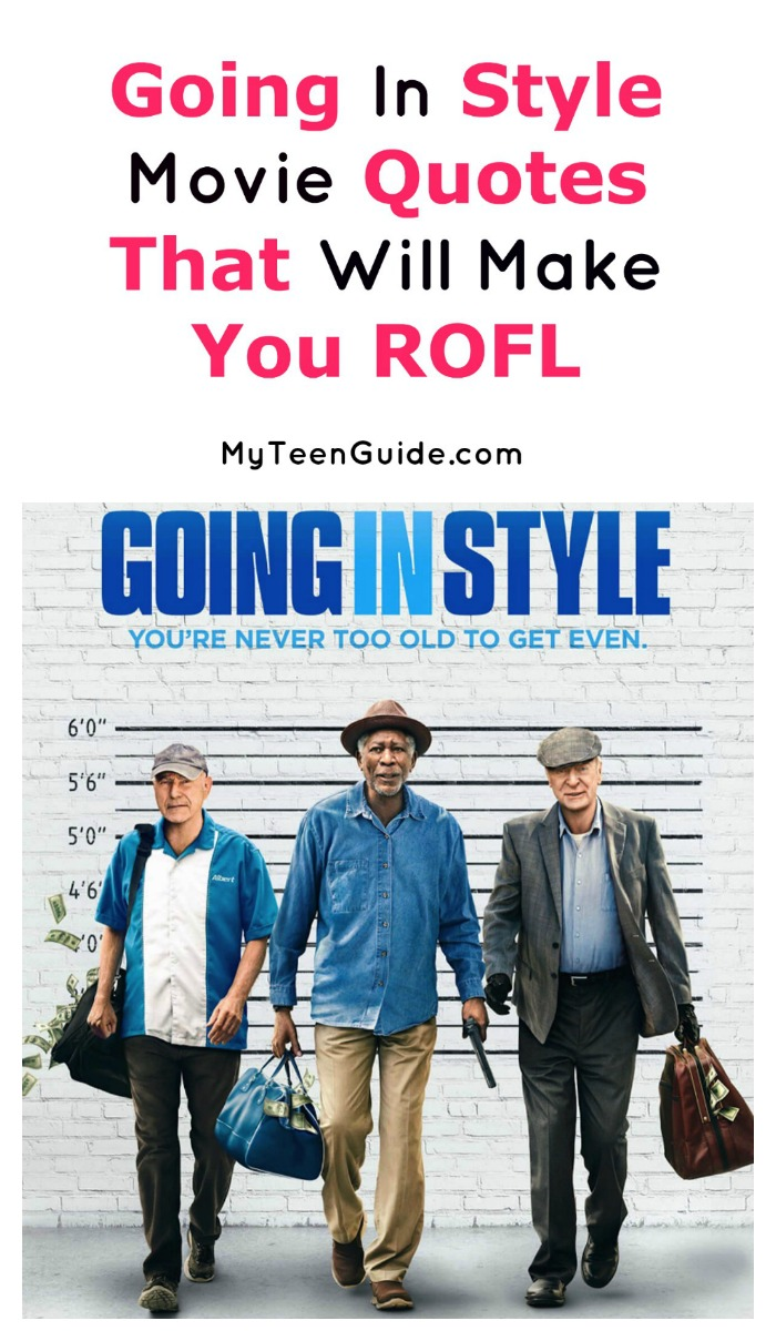 Looking for hilarious and touching Going In Style movie quotes? Check out a few of our favorite lines from the comedy movie!