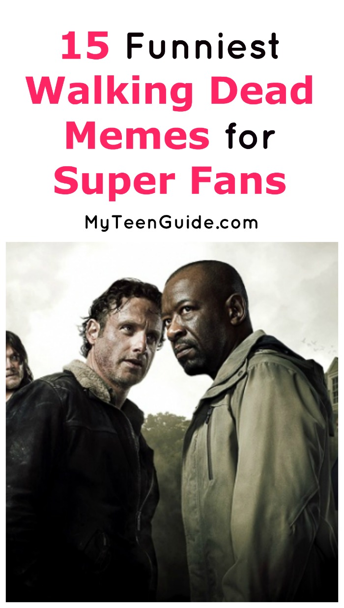 Super fans will LOVE these 15 best and funniest Walking Dead memes! Which are your favorites? Check them out!