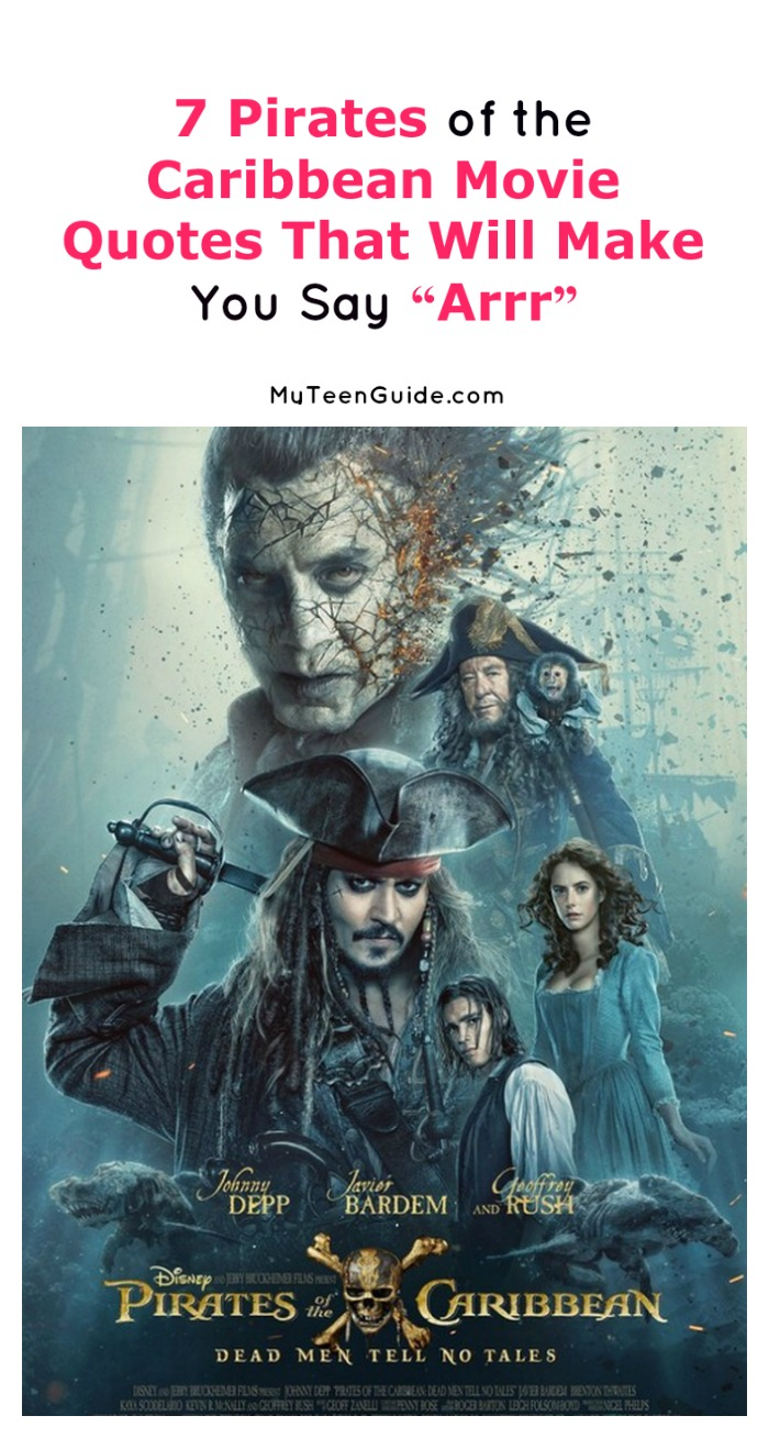 Pirates Of The Caribbean Quotes Pirates Of The Caribbean Dead Men Tell No Tales Movie Quotes  My