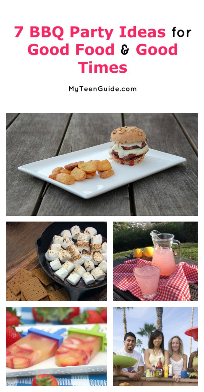Planning an outdoor bash with your besties to celebrate summer? Check out 7 BBQ party ideas for good food and good times!