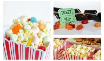 Plan a chill night in with the girls with these amazing DIY movie night party ideas! The only thing left to do is send the invites! Check them out!