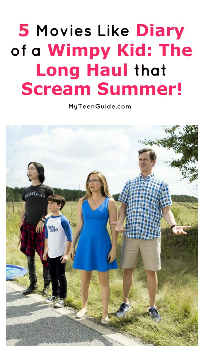 In the mood for more fantastic summer adventure movies like Diary of a Wimpy Kid: The Long Haul? Check out these 5 flicks that scream summer!