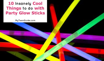 10 Cool Things to do with Party Glow Sticks