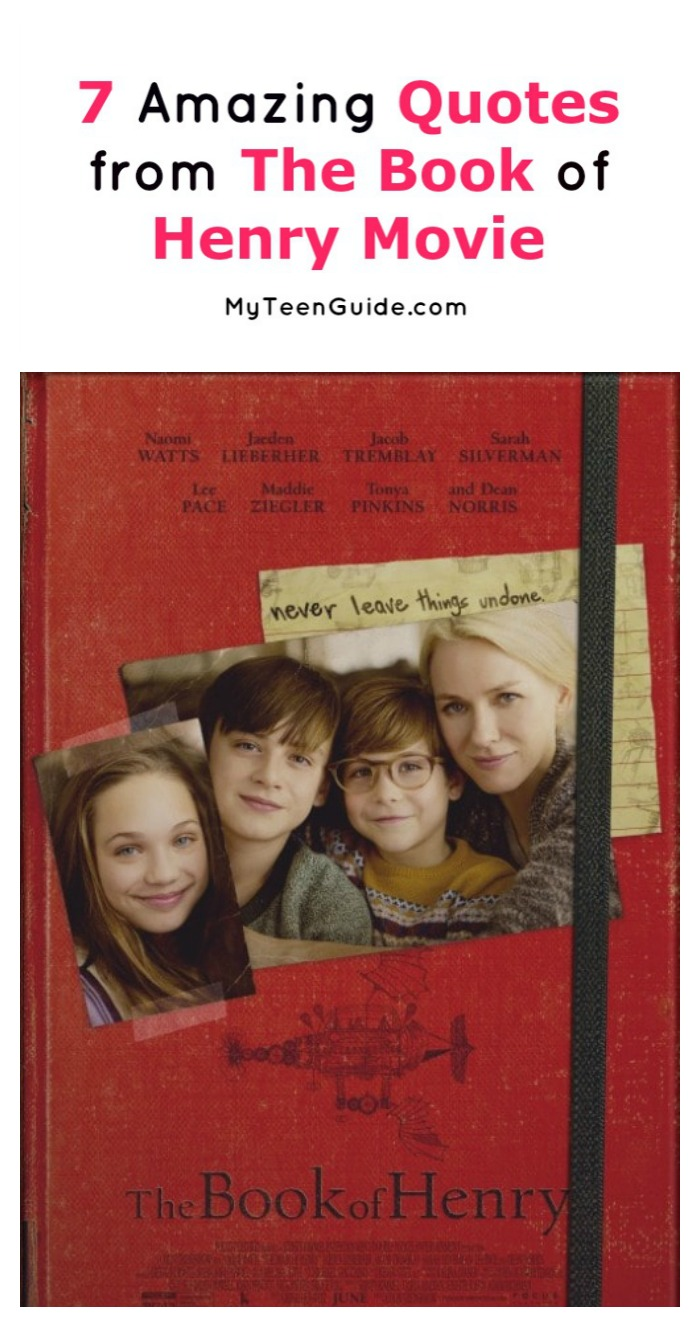 7 Most Inspiring The Book of Henry Movie Quotes - MyTeenGuide