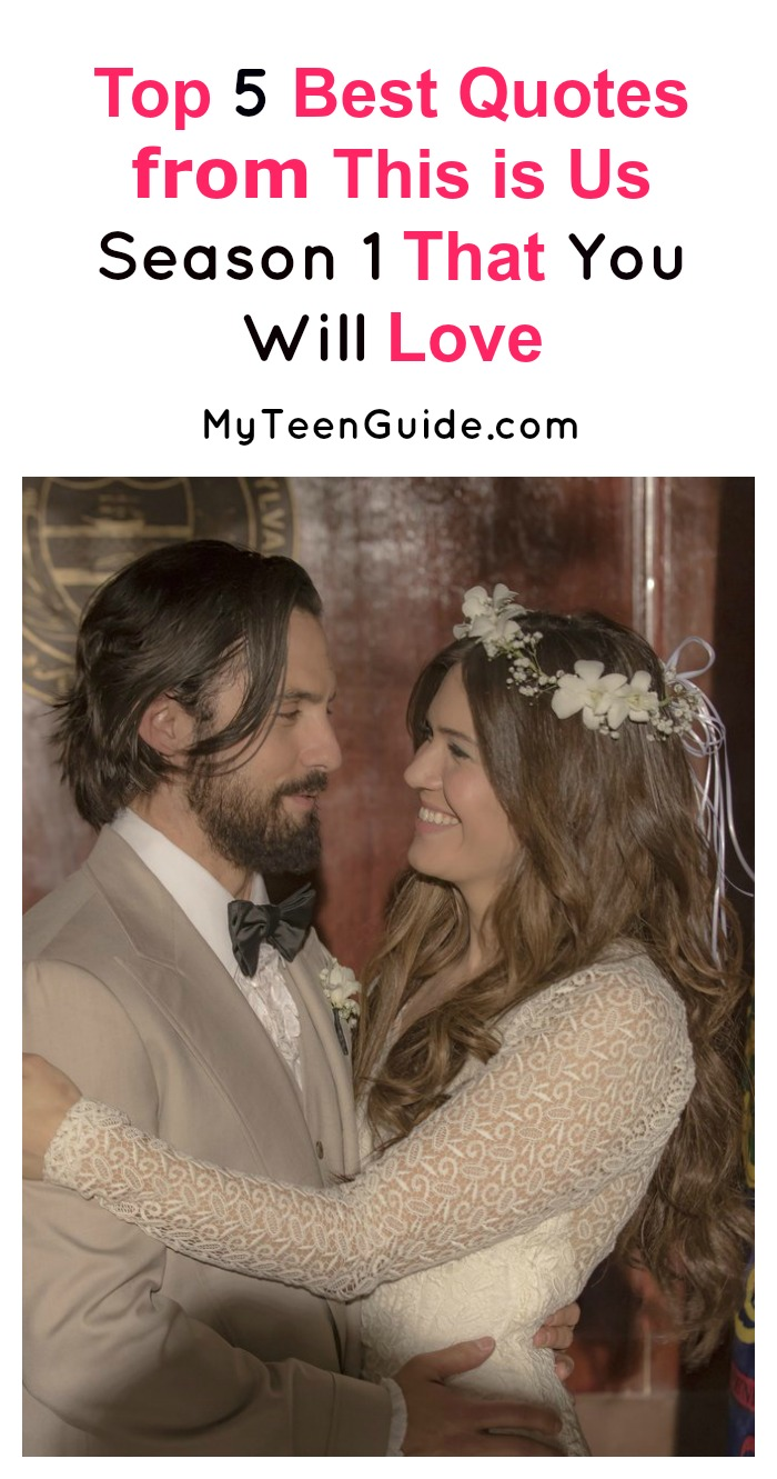 Looking for the best quotes from This is Us Season 1? In a show full of profound lines, we picked out five of our favorites! Check them out!