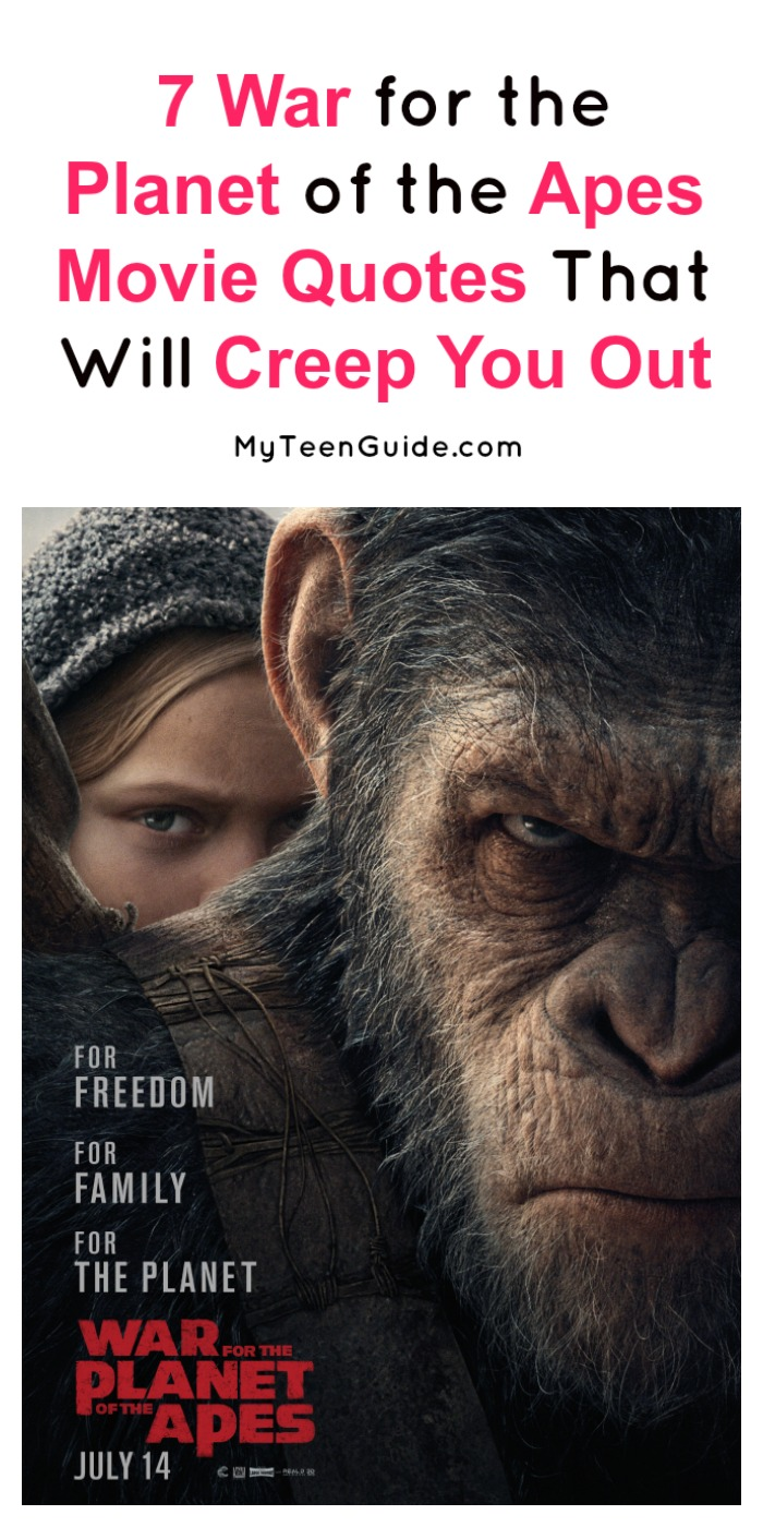 Quotes About War 7 War For The Planet Of The Apes Movie Quotes That Will Creep You