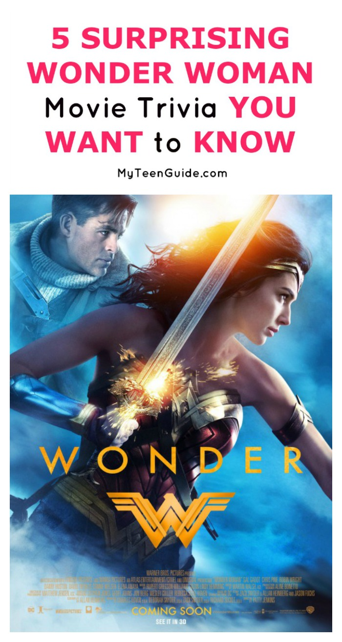 Calling all super hero fans! These are the 5 Wonder Woman movie trivia tidbits you really want to know! Check them out!
